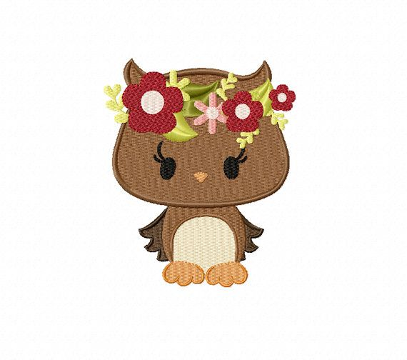 Pretty Fox with a Halo of Flowers  Machine by TedandFriends