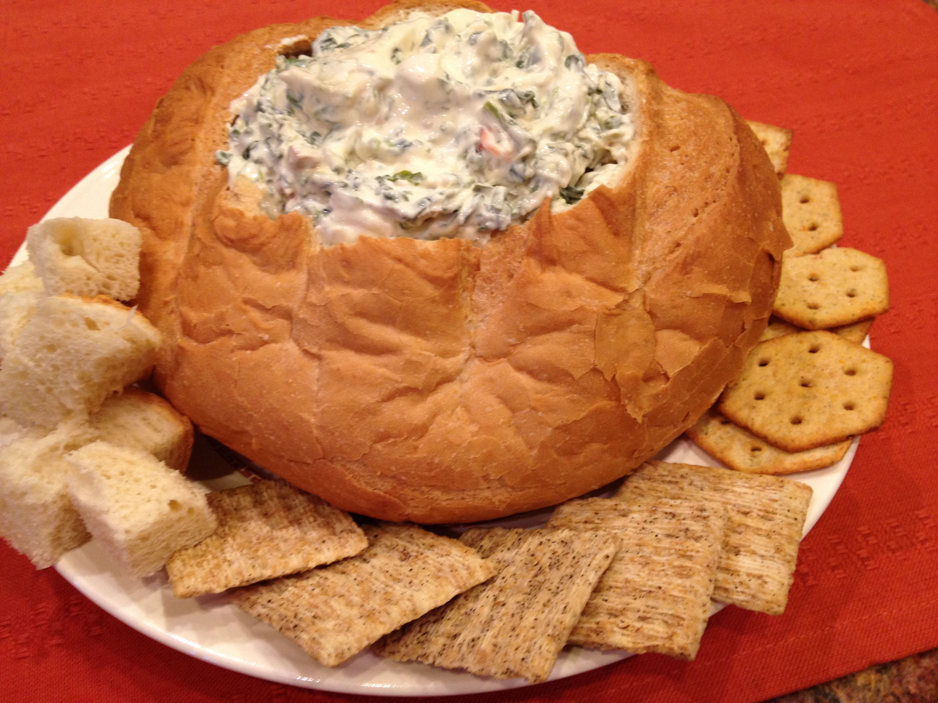 Classic spinach dip spinach dip yummy appetizers food