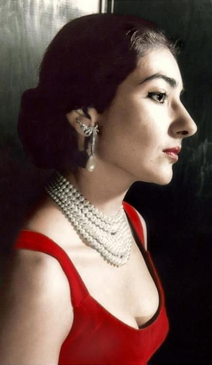 La Divina Maria Callas Maria Callas Portrait Singer