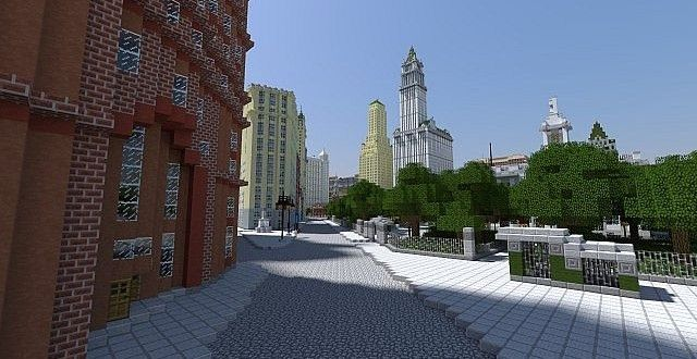 New York Cities 1940 S Map 1 8 1 7 10 And 1 7 2 Minecraft Maps