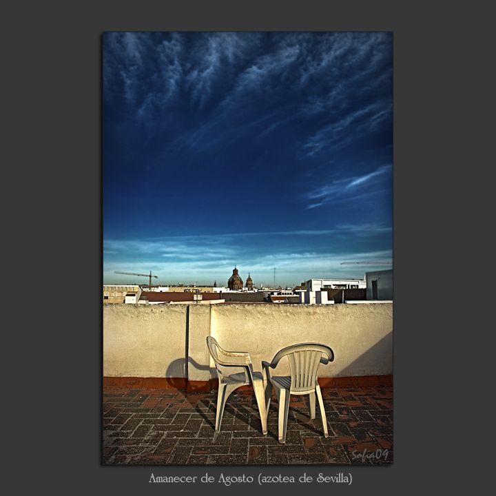 El cuarto claro (Sofía Serra): Amanecer en Sevilla