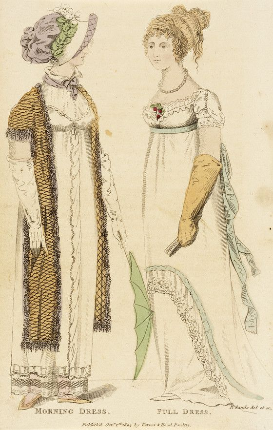 1804 (Morning Dress - Full Dress) | LACMA Collections