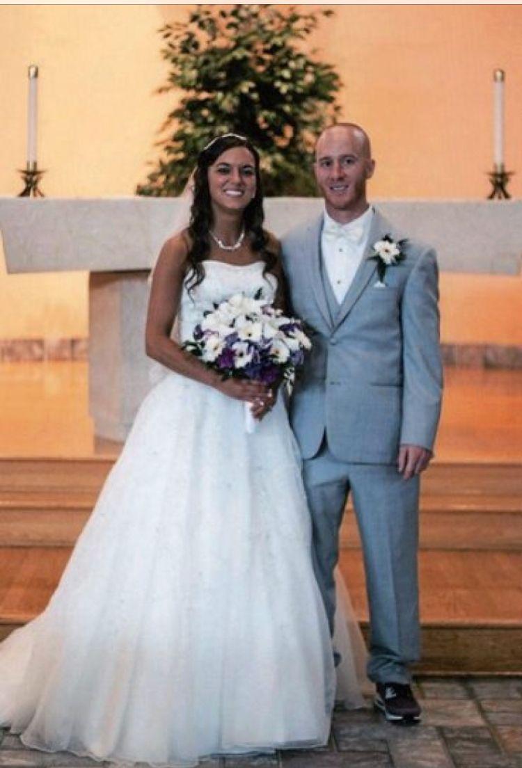 Mr and mrsmichael fazzi bride is the former jessica segilia