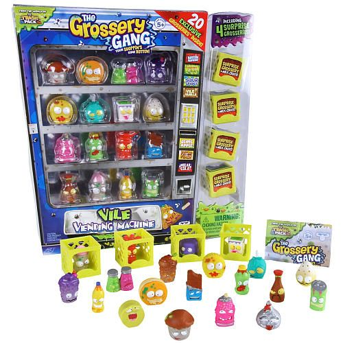 Toys R Us Slot Machines : The grossery gang vile vending machine moose toys