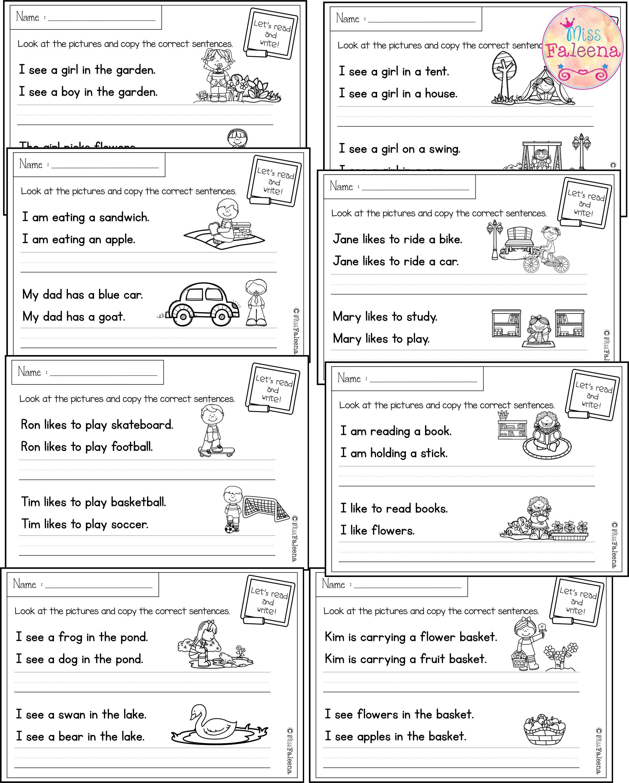 May Sentence Writing