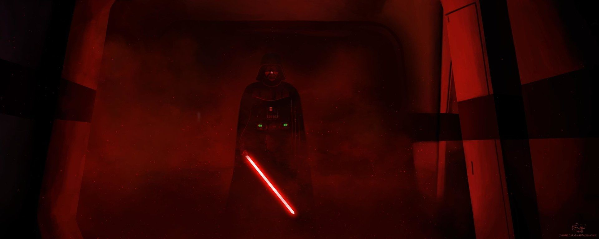 Star Wars Rogue One A Star Wars Story Darth Vader 1080p Wallpaper Hdwallpaper Desktop In 2020 Star Wars Wallpaper Darth Vader Wallpaper Darth Vader