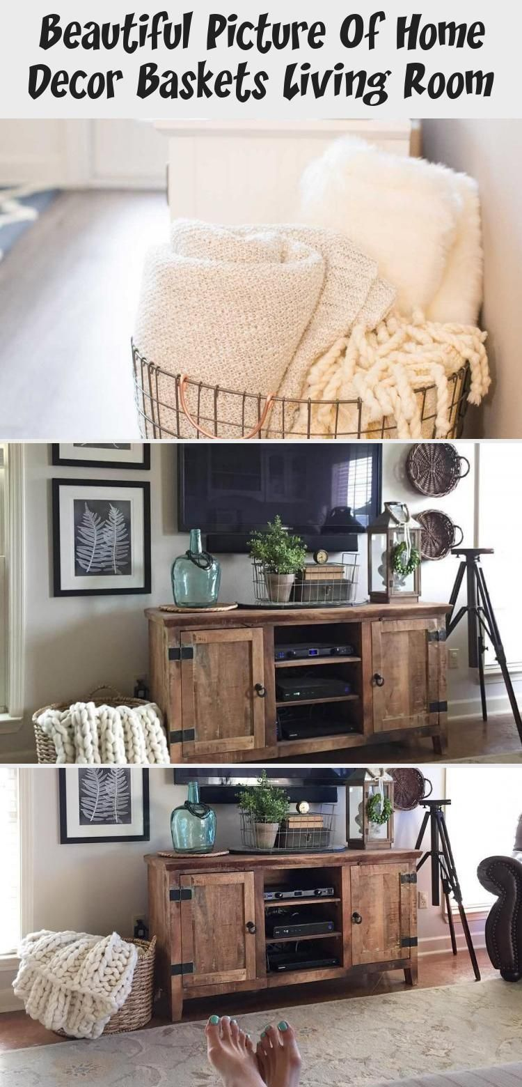 Beautiful Picture Of Home Decor Baskets Living Room in ...