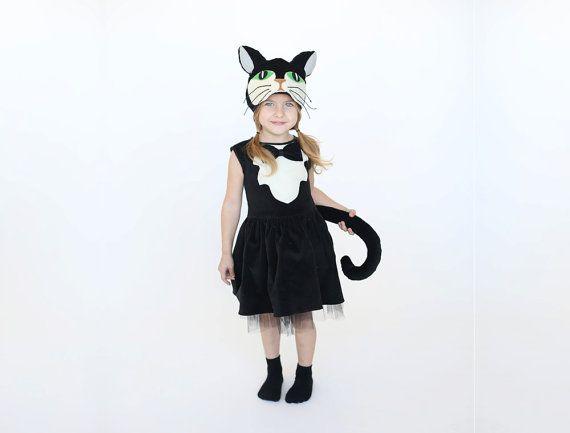 Girls Cat Costume Kids Costume Girls Costume In 2019 Fashion
