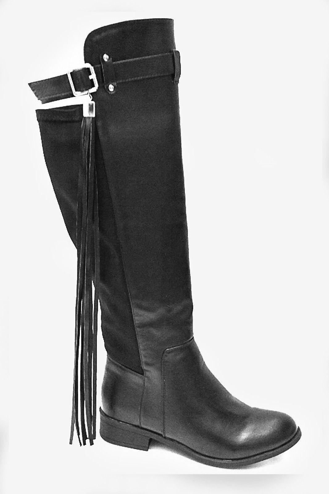 High Rider Tassel Boots - Brown