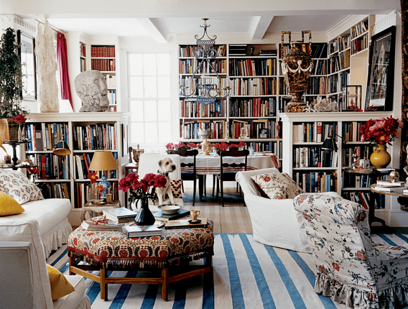 Creating A Chic Cosy Home Library Best Colors Lighting