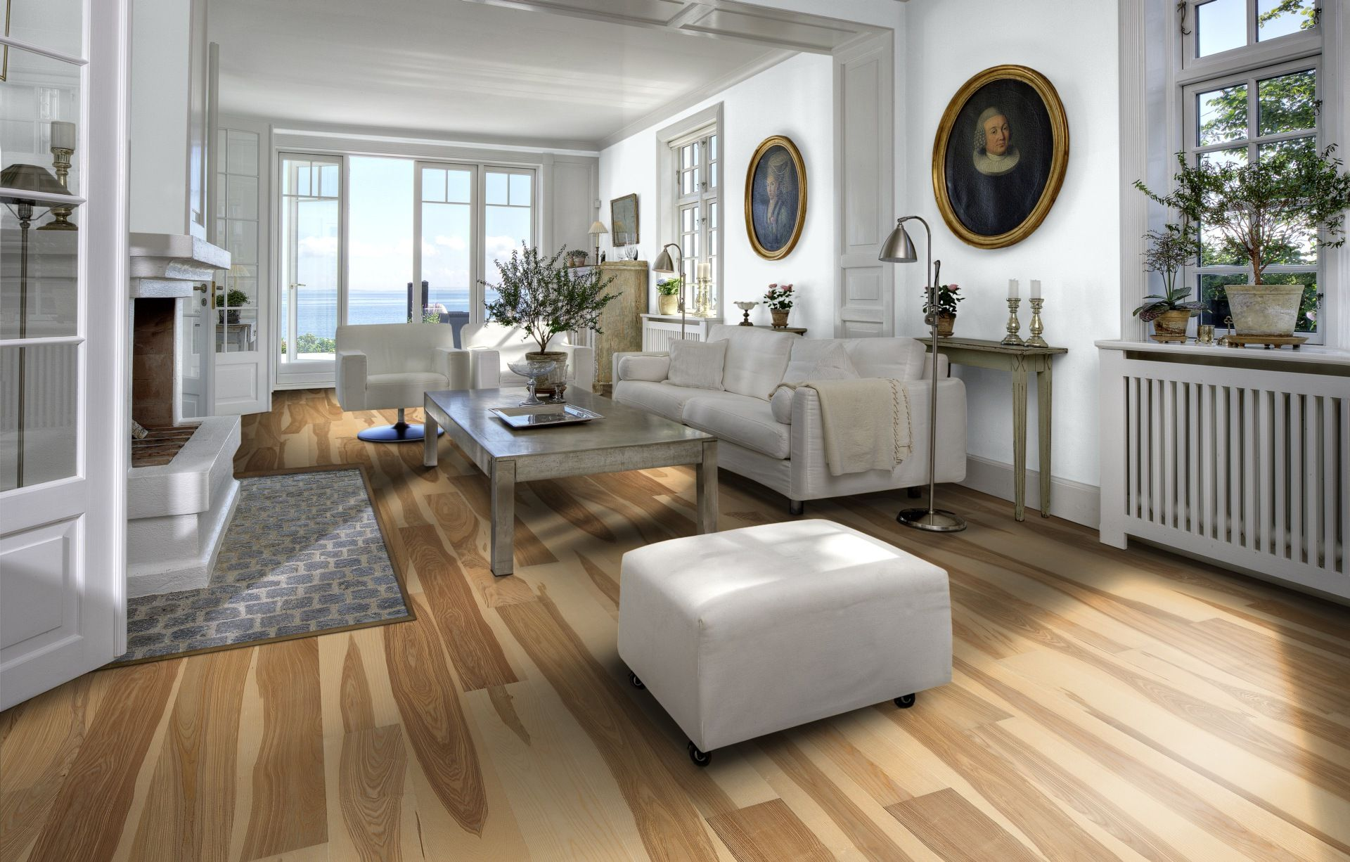 Ash Gotland Engineered wood floors, Engineered oak