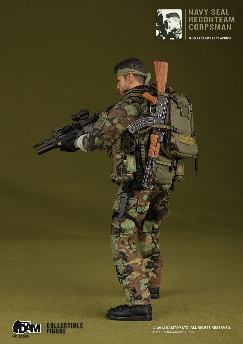 Navy Seal Recon Team Corpsman 800 1131 Military Action Figures Military Diorama Military Figures