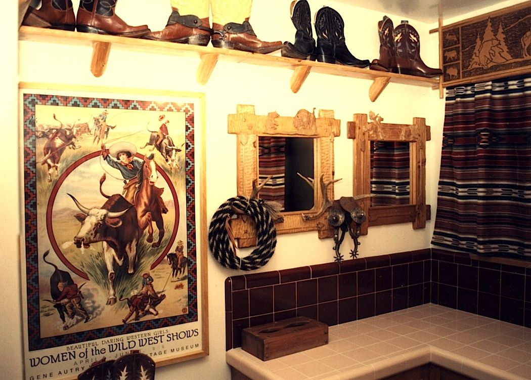Western Home Decor Ideas Part - 23: Western Style Bathrooms | Cowboy Bathroom Decor Ideas For Western Bathrooms  : KVRiver.