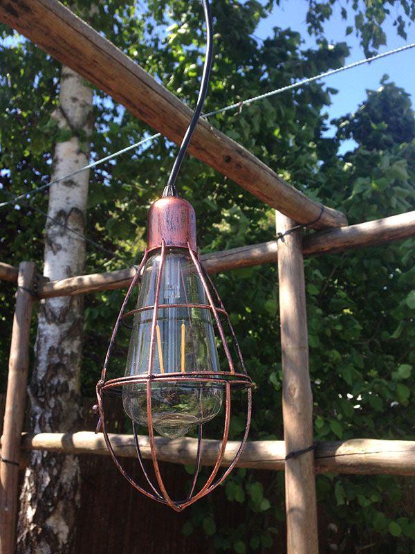 Utrzymana W Stylu Steampunk Solarna Lampa Wisząca świetna