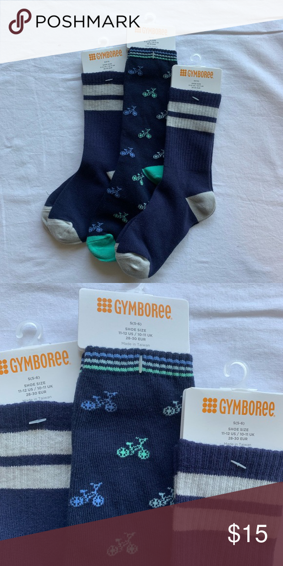 Gymboree Basic Charcoal Gray Socks Boys Size 6-12 Months NEW NWT