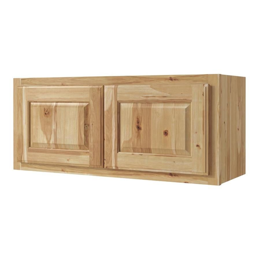 Diamond Now Denver 33 In W X 14 In H X 12 In D Natural Door Wall Stock Cabinet Lowes Com Wall Cabinet Rustic Doors Stock Cabinets