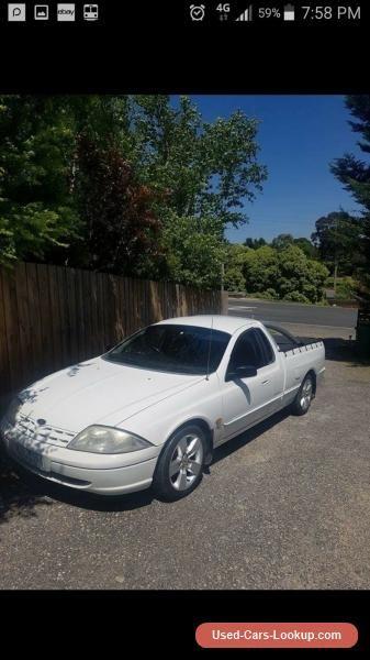 Car For Sale Ford Au Ute Lpg Petrol Xr6 Options