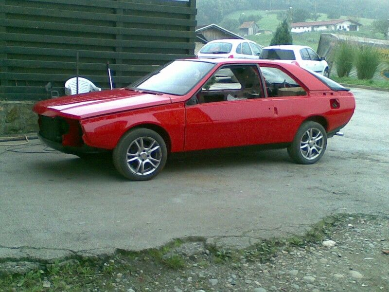 Renault Fuego, paint job done