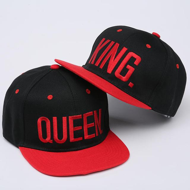 KING and QUEEN Hip Hop Sport Hats 2 pieces in 2019  5e490cce71ee