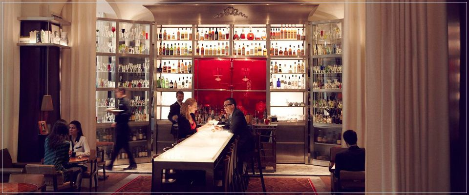 Le Bar Long, Le Royal Monceau Raffles Hotel, Paris