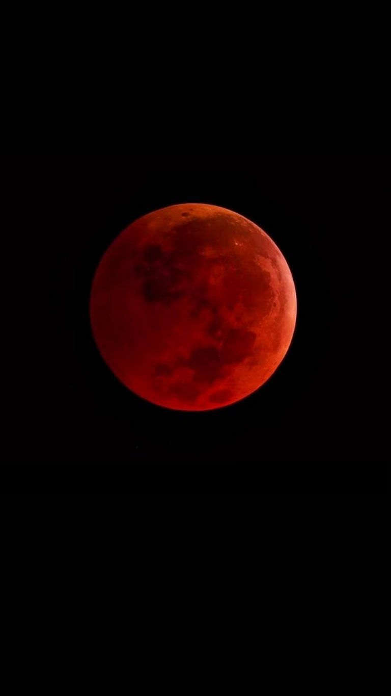 Blood Moon Iphone Wallpaper Super Blood Moon Blood Moon Red Moon
