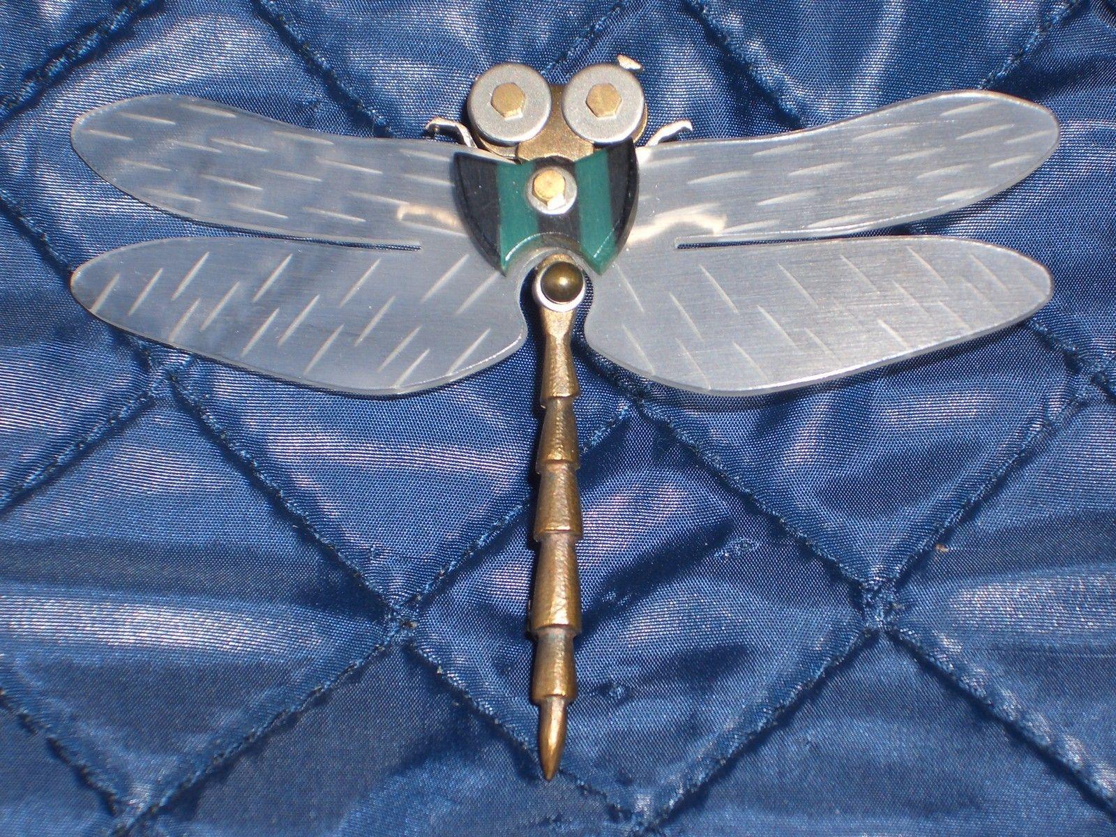 Thomas Mann mixed metals brooch