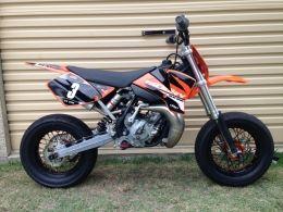 Ktm 85cc Motard Motorcycle Build By Grnman Ktm Motorcycle Dual Sport Motorcycle