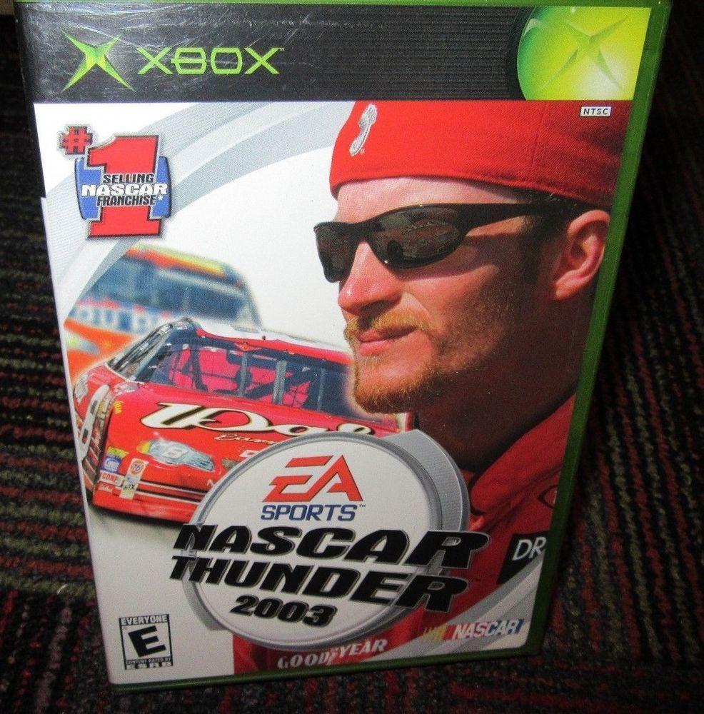 NEW NASCAR THUNDER 2003 GAME FOR MICROSOFT XBOX, NEW