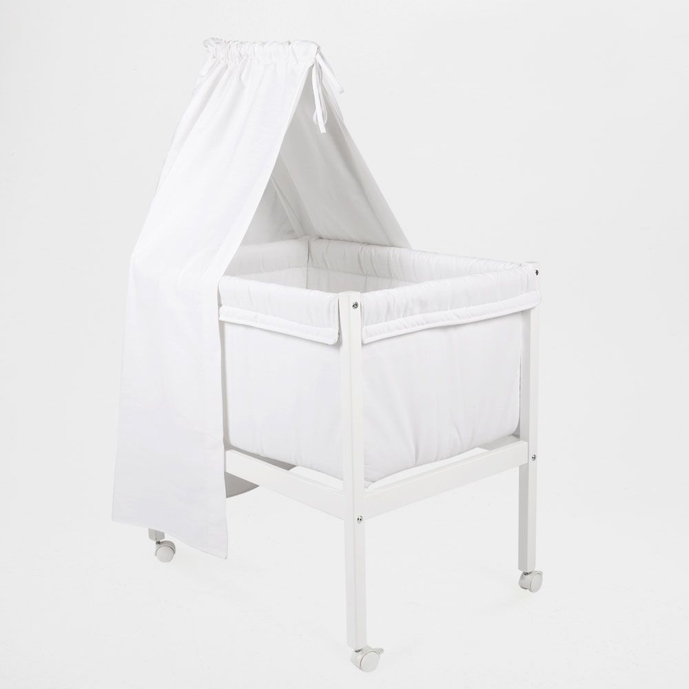 2dabe8eabd Mini cot with canopy | Babys room | Cot, Zara home, Cot canopy