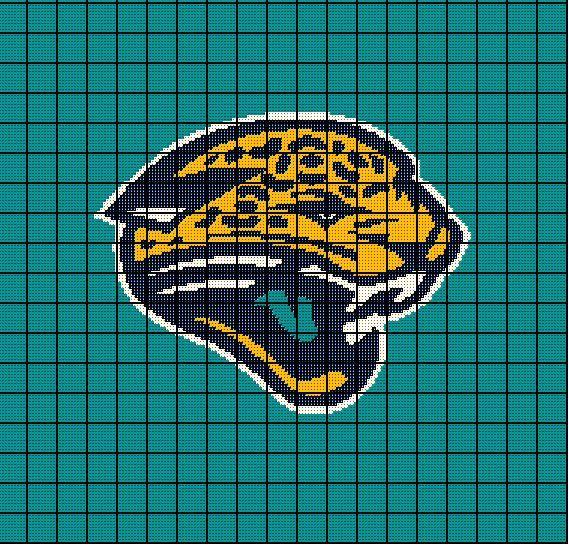 5 Jacksonville Jaguars Crochet Afghan Blanket Pattern Nfl