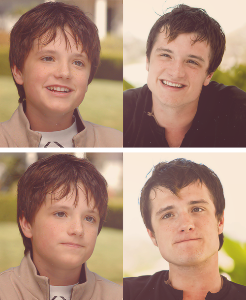 hasn't changed a bit :) (Josh Hutcherson)