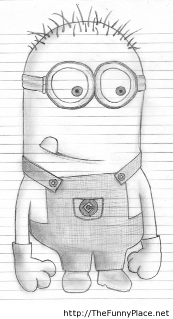 Funny Drawings Pictures : funny, drawings, pictures, Mionions, Funny, Drawing, Picture, Drawings,, Disney, Drawings, Sketches