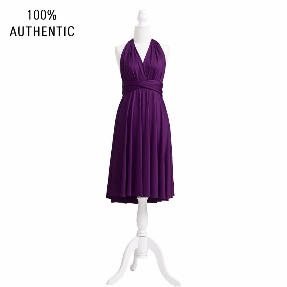 Dark purple wedding dress  Dark Purple Bridesmaid Dress Infu  Bridesmaid Dress Infinity