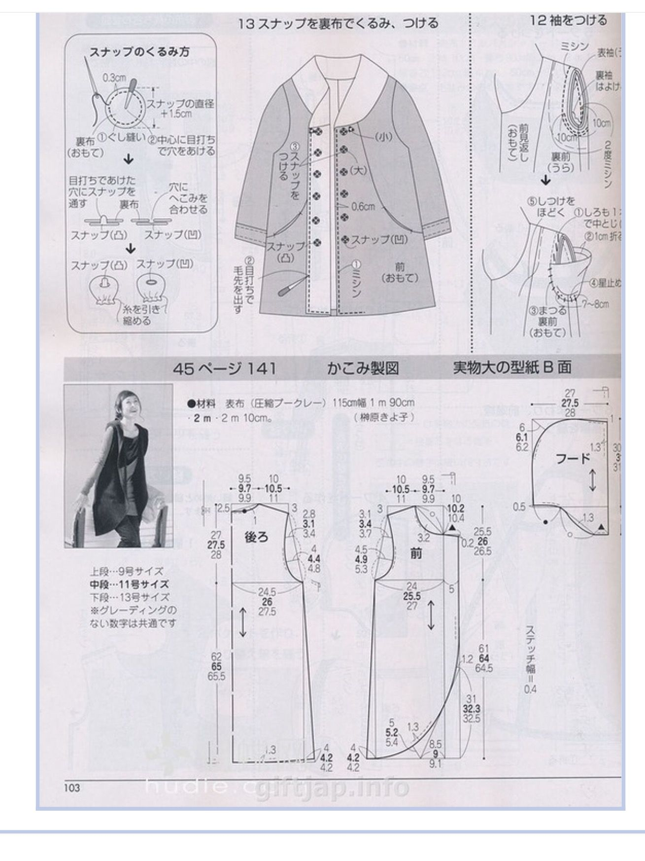 Pin by Chung Chiang Tai on 服裝 | Pinterest | Sewing patterns and ...