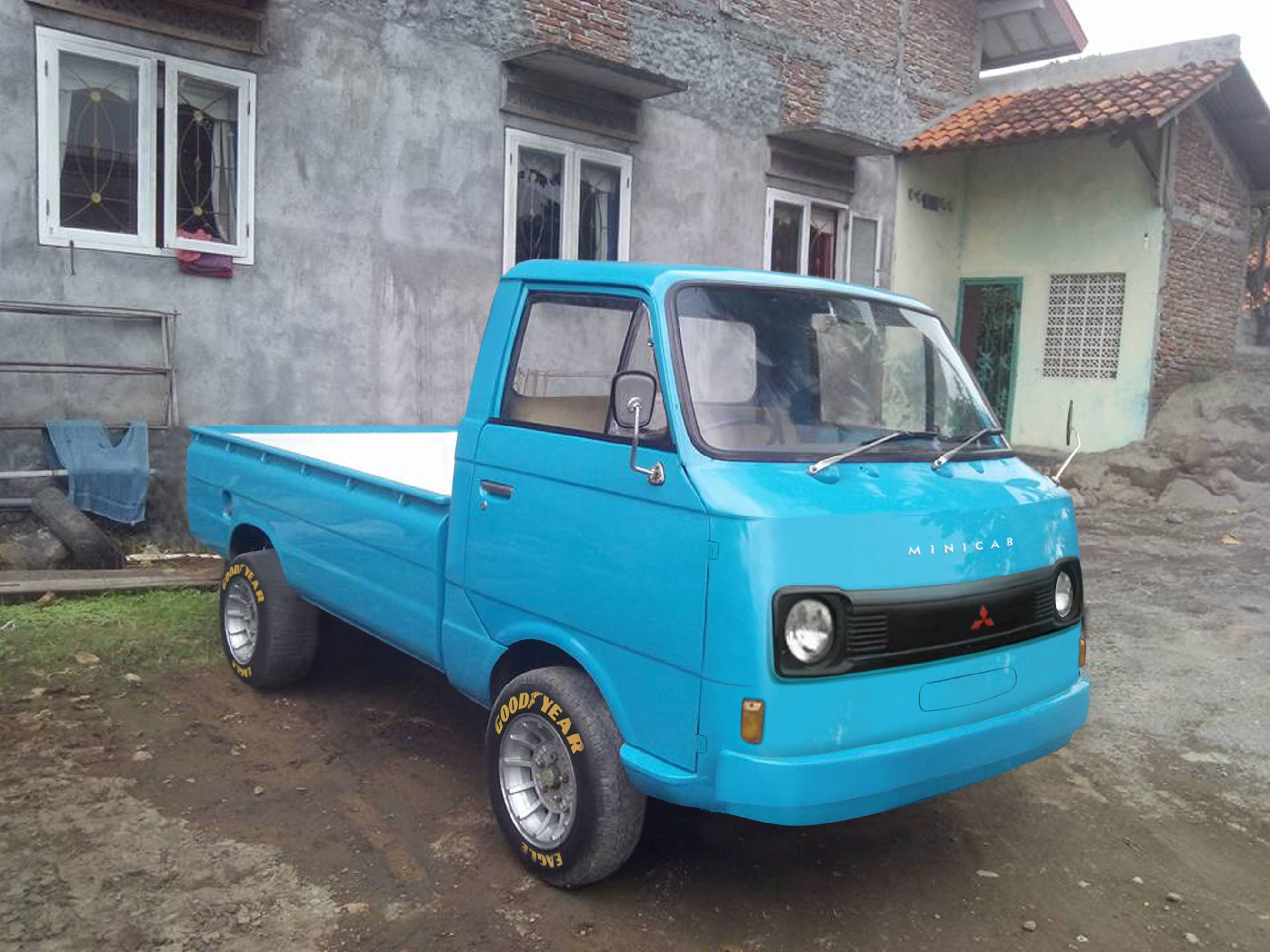 Minirod Is Colaboration From Mitsubishi Colt T 120 S And