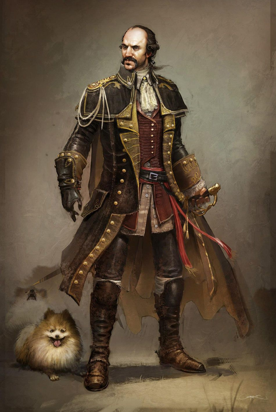 Assassin's Creed III Art & Pictures  Charles Lee