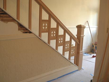 Best Building A Staircase Banister Visit Wood Railing At Http 640 x 480