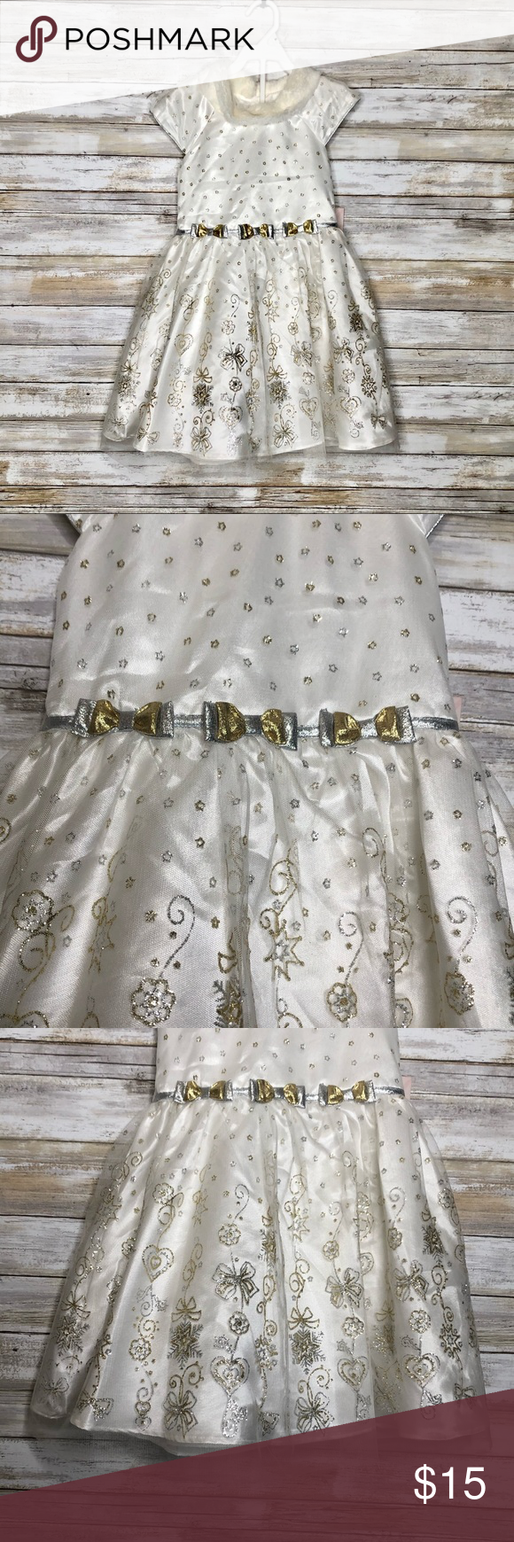 Nwt 5t Party Dress Toddler Party Dress Beautiful Party Dresses Party Dress [ 1740 x 580 Pixel ]