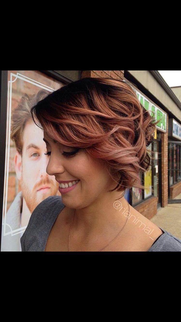 Rose gold hair pinterest hair raising hair coloring and hair