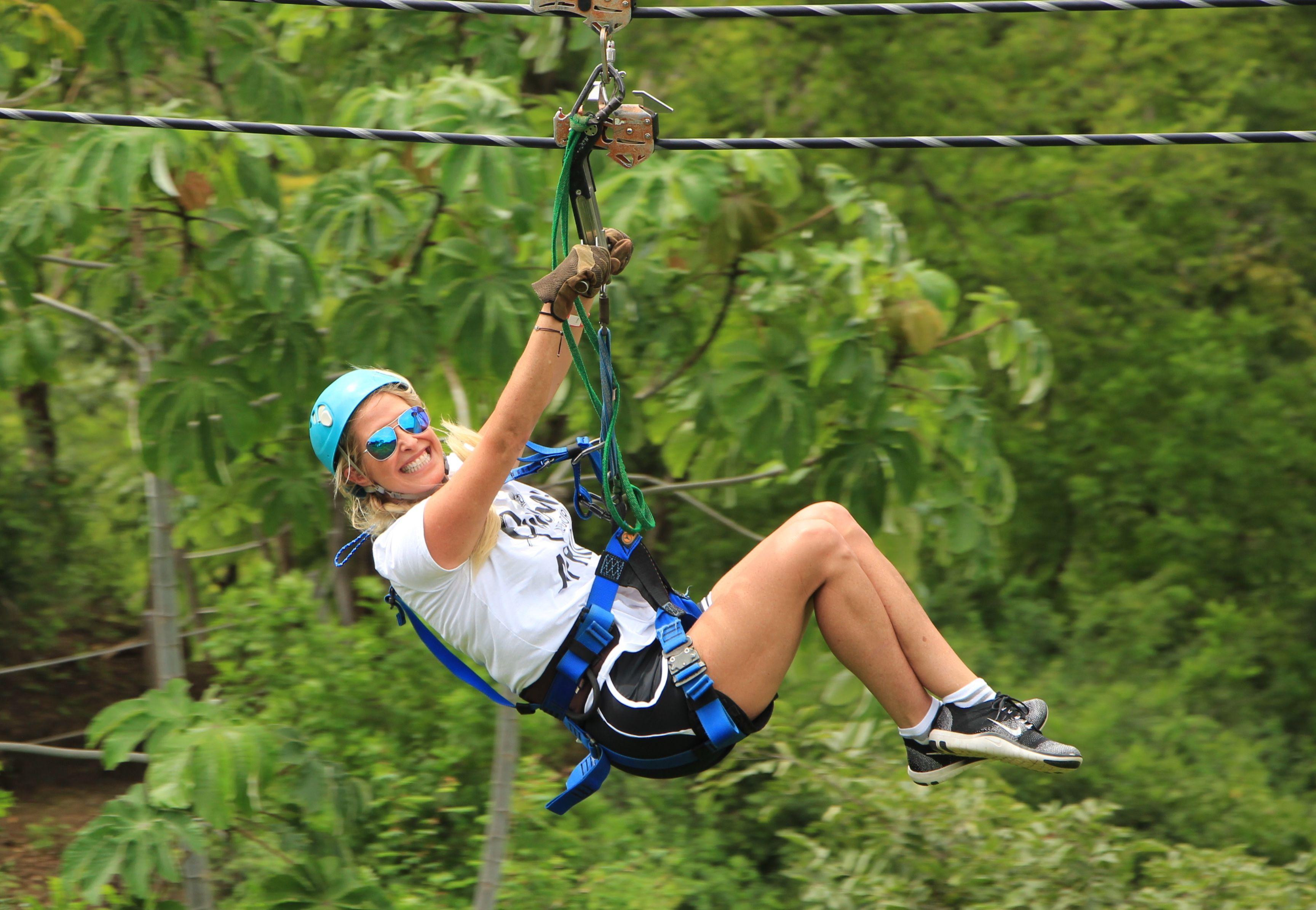 Zip Lining Near Guanacaste
