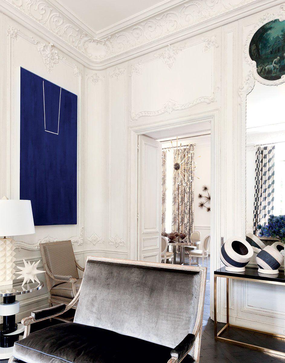Inside Lauren Santo Domingo\'s Paris Duplex | Einrichten und Wohnen ...