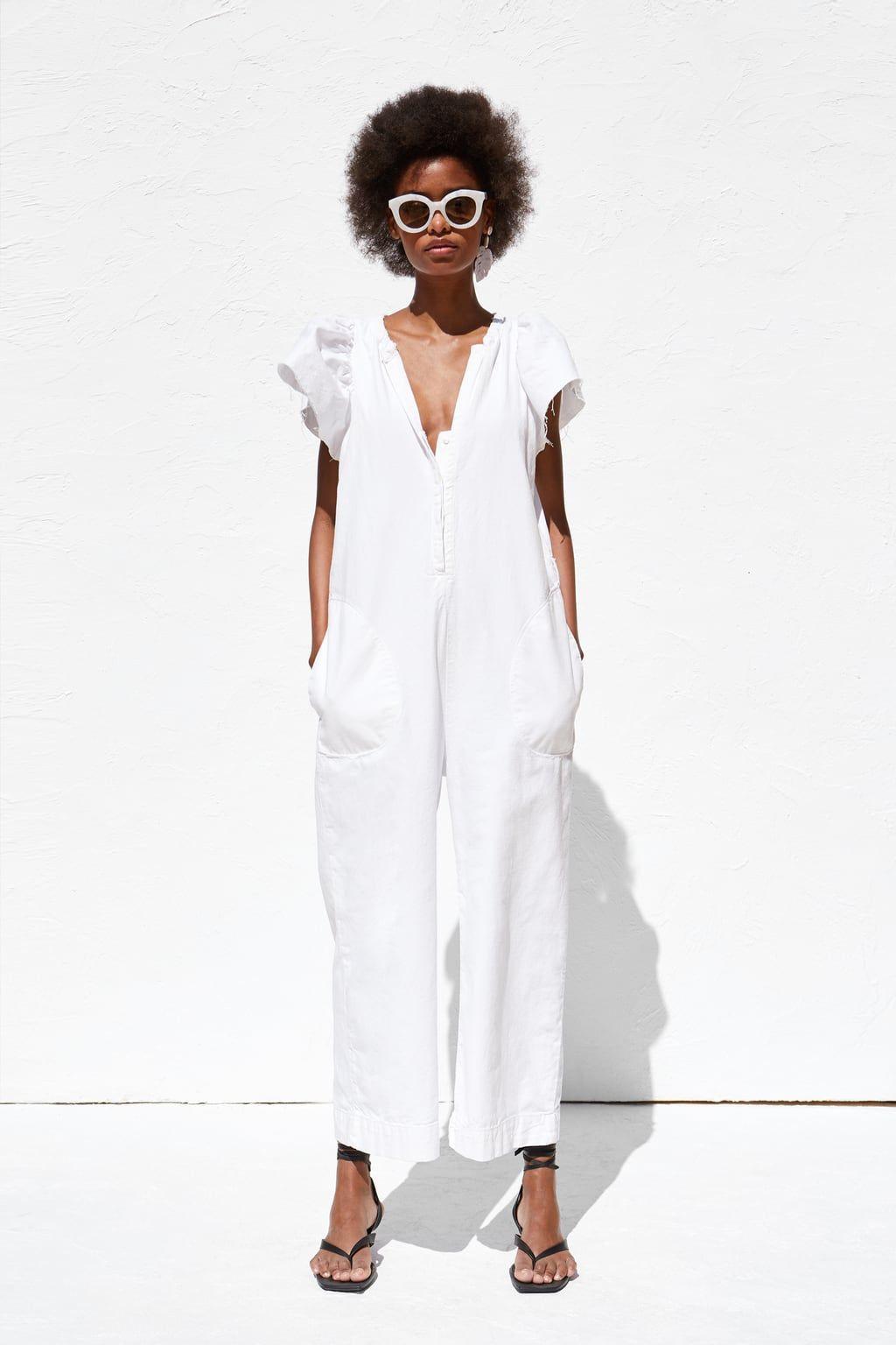 8ed93b71 Rustic jumpsuit in 2019 | Wear Me | Zara jumpsuit, Jumpsuit ...