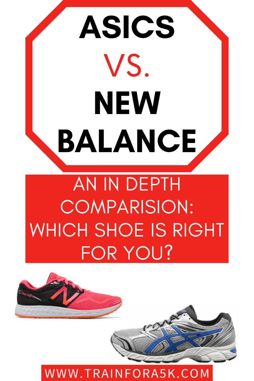 asics vs new balance running shoes