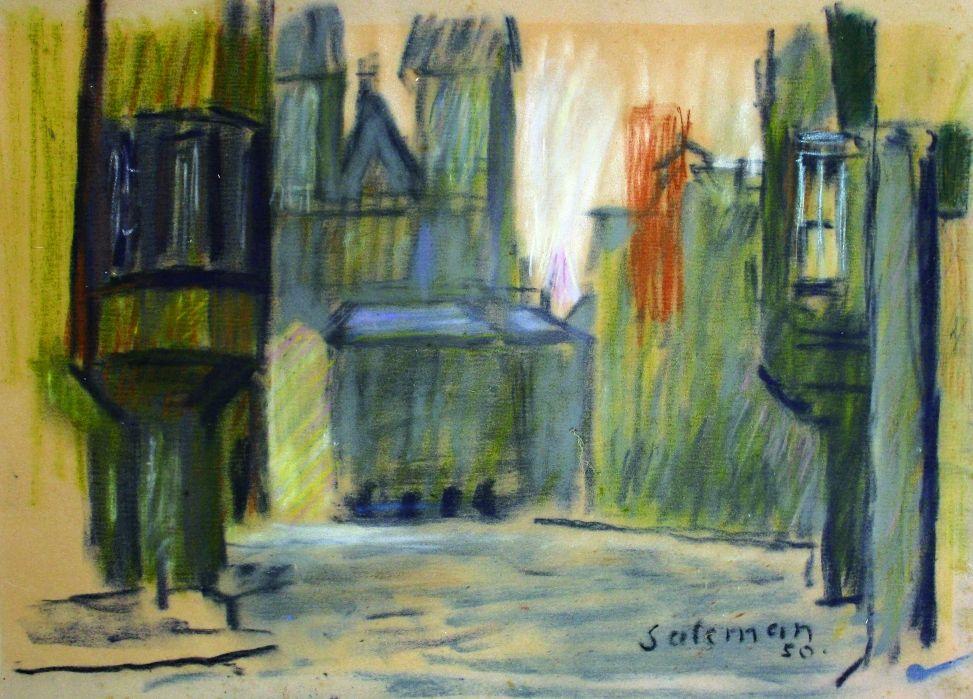 SALCMAN Martin (1896-1979): Staroměstské náměstí.