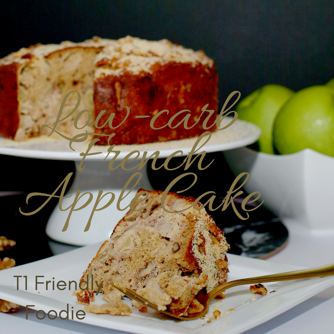 Diabetic friendly French Apple Cake Recipe (With images