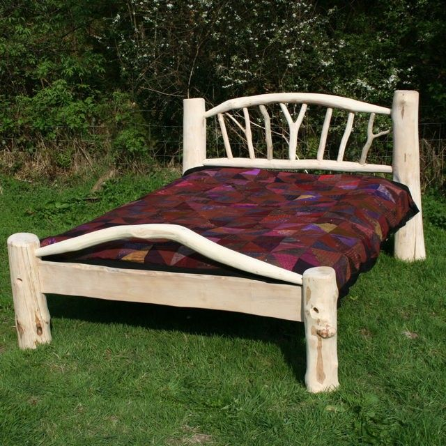 driftwood bed frame 02 - Driftwood Bed Frame
