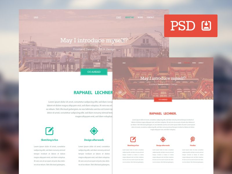 Variety  Free Psd Website Template  Freebbble  Ui And Ux