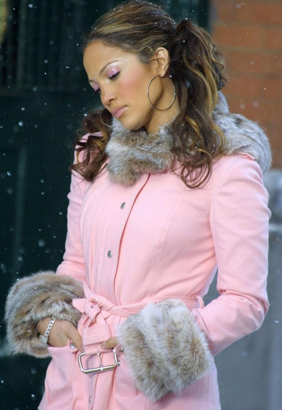 Pink Coat Jacket Jennifer Lopez Fashion Jennifer Lopez Pink Coat [ 1306 x 900 Pixel ]