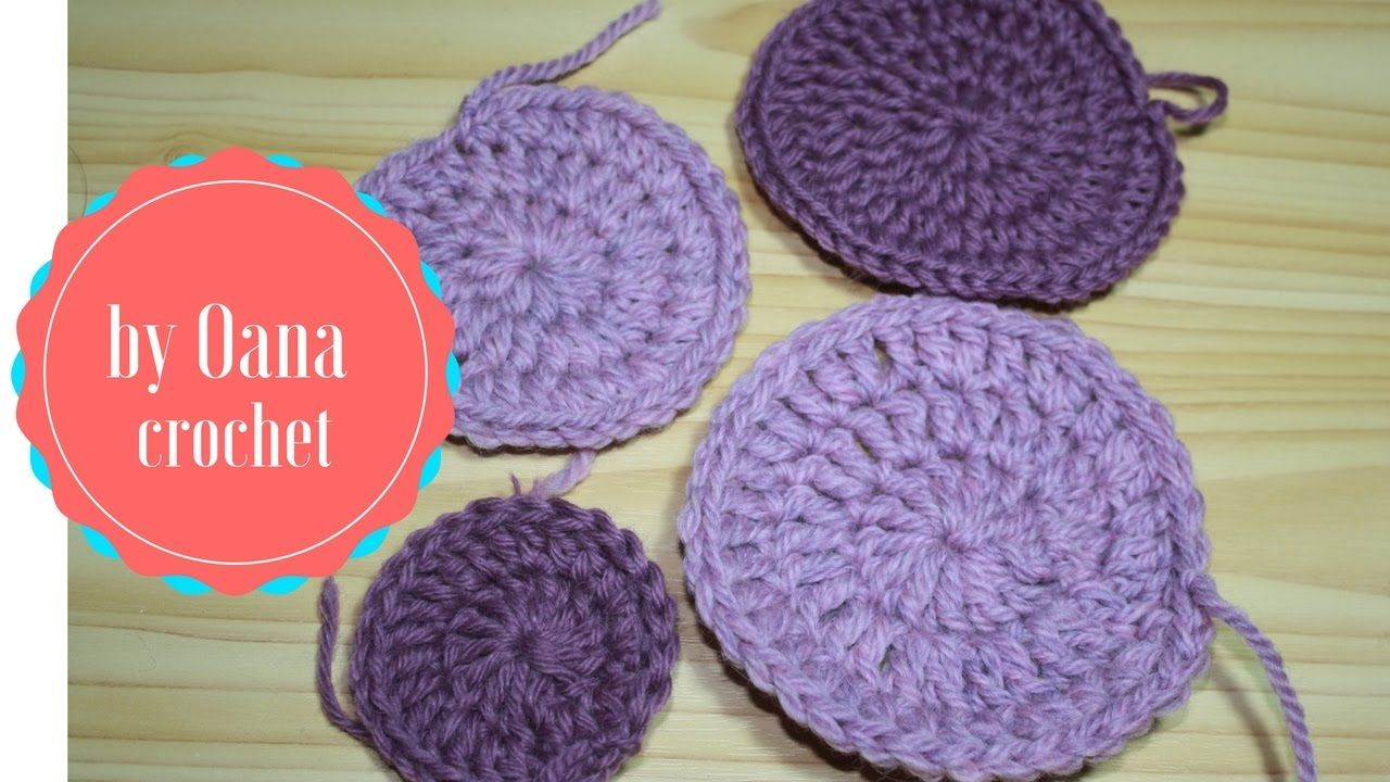 Crochet in rounds hdc and dc without joining crochet