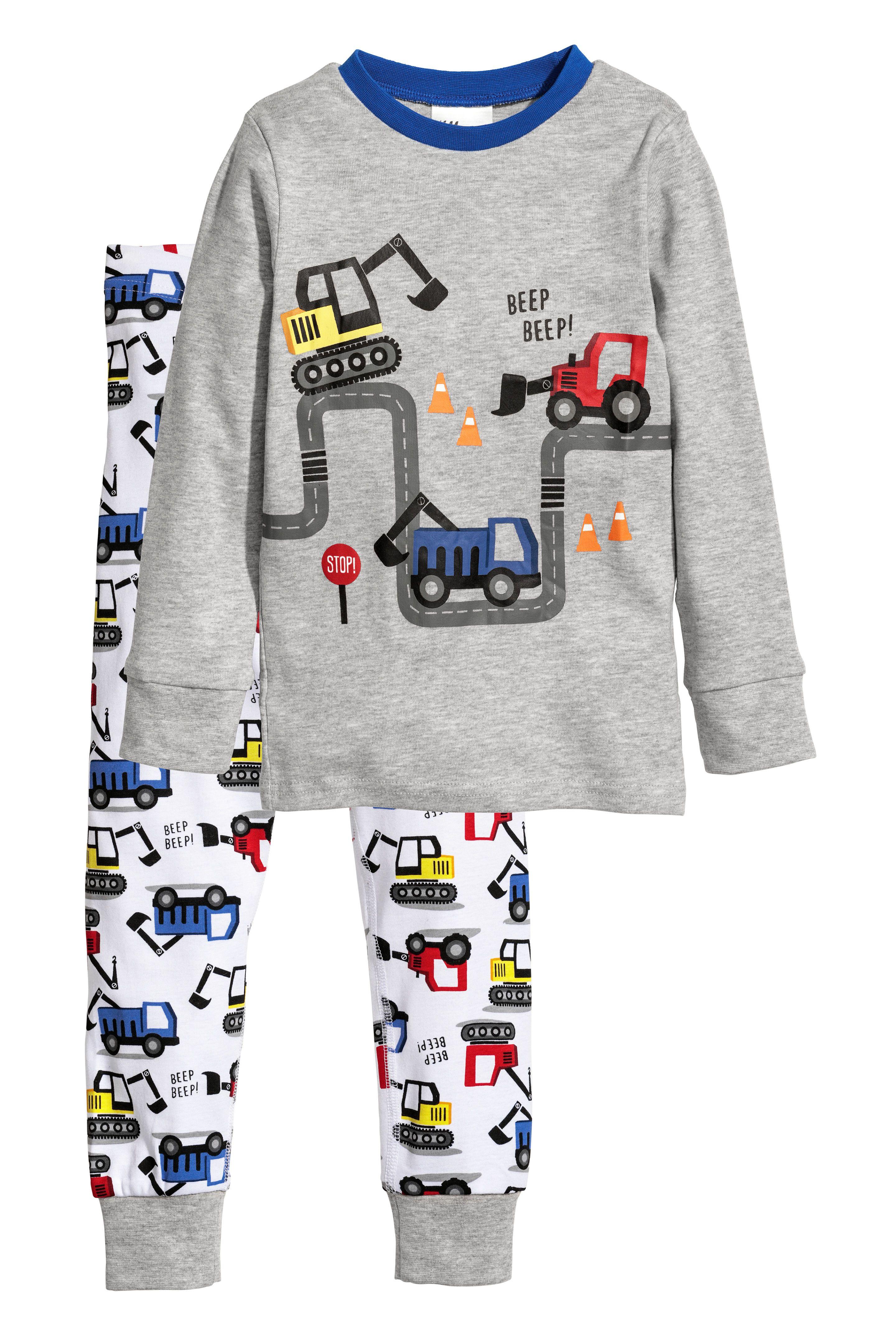 Jarse Pijama Takimi Gri Kis Ve Renkler